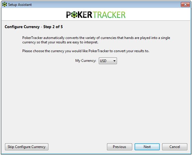 Poker Tracker 4 Currency